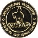 Westernridborgarmärke Guld