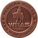 Westernridborgarmärke Silver