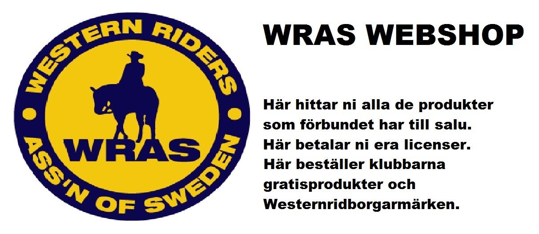 Välkommen till WRAS Webshop!